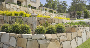 retaining walls Newcastle